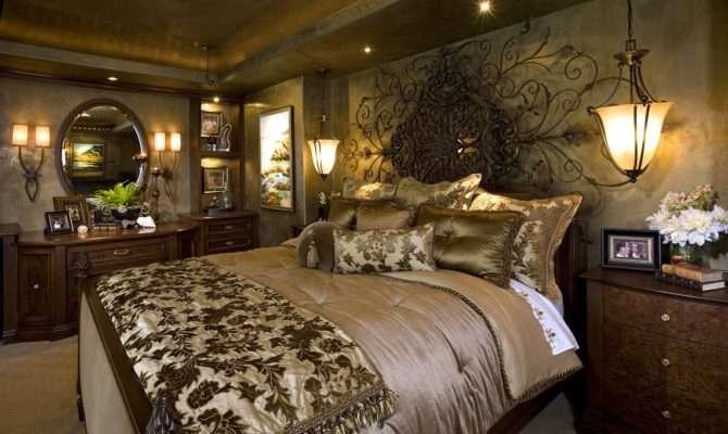 Mediterranean Home Master Bedroom Robeson Design San