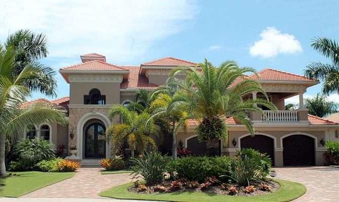 Mediterranean Home Plans Premier Luxury Two Story