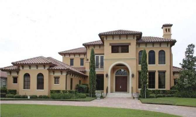 Mediterranean House Plans Front Porch Home Deco