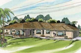 Mediterranean House Plans Glenridge Associated Designs