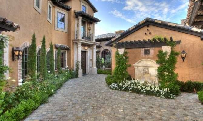 Mediterranean Inspired Outdoor Spaces
