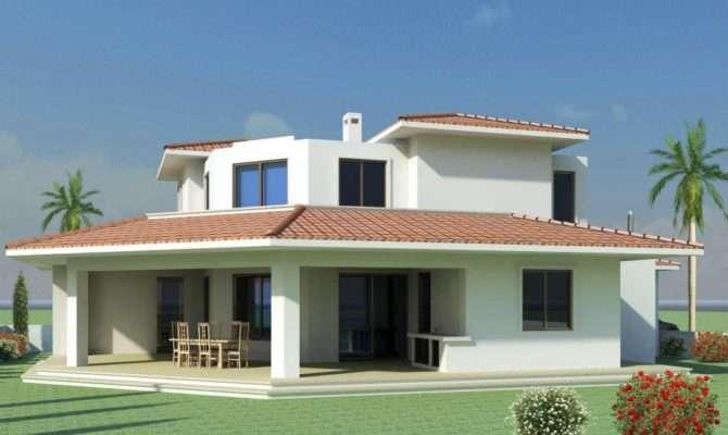 Mediterranean Modern Homes Exterior Designs