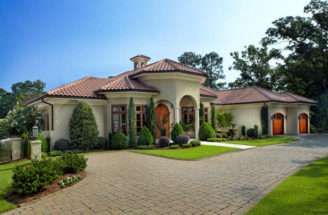 Mediterranean Style Kaufman Construction Company