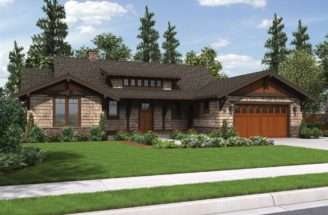 Meriwether Craftsman Ranch House Plan Stunning Amenities