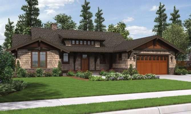 Meriwether Craftsman Ranch House Plan
