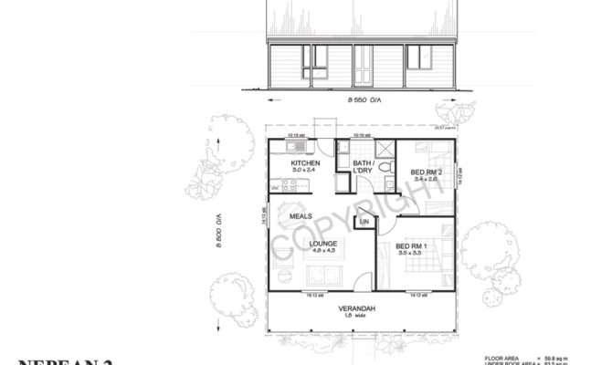 Met Kit Homes Floor Plans Bedroom Granny Flat Affordable Budget