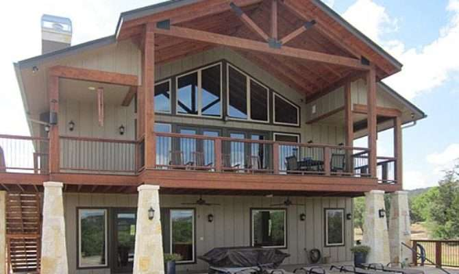 Metal Building Carriage House Built Texas Plans