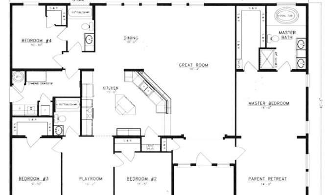 Metal Building House Floor Plans Homes