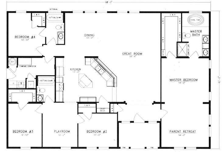 Metal Building House Floor Plans Homes