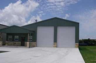 Metal Building Shop Living Quarters