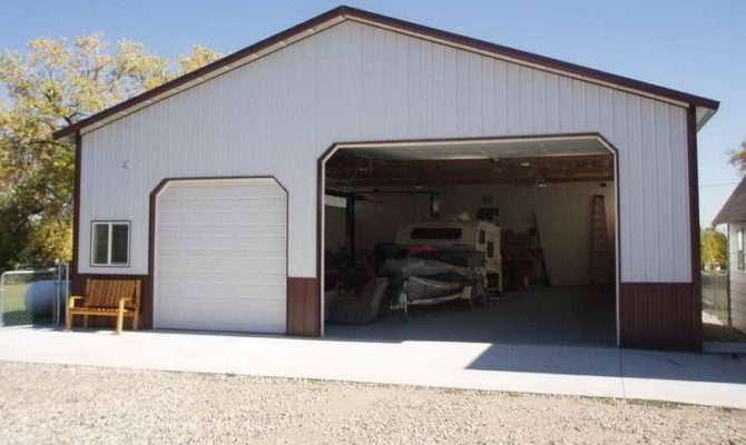 Metal Shop House Plans Trial Garages Buildings