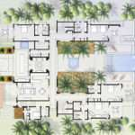 Mexican Hacienda Floor Plans