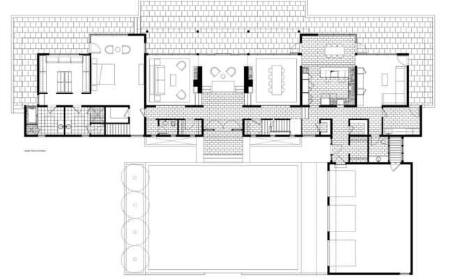 Mid Century Modern Home Floor Plans Plan House