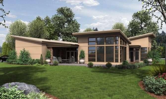 Mid Century Modern Homes Plans House Plan