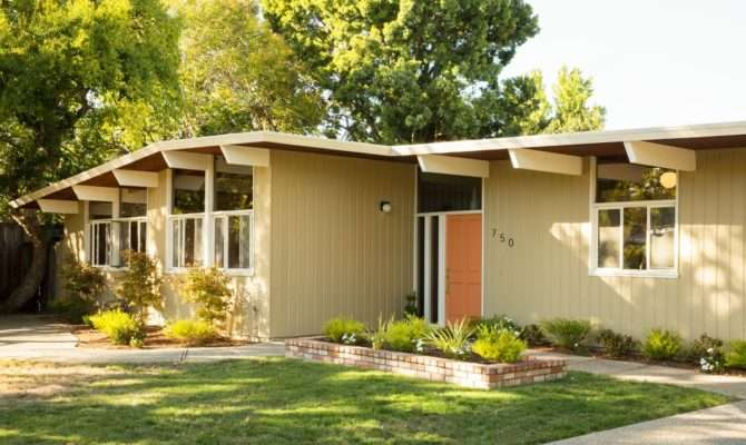Mid Century Modern Homes Plans Small House Plan