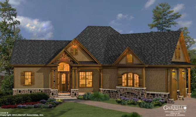 Mill Spring Cottage House Plan Cabin Plans