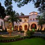 Million Gated Mediterranean Mansion Houston
