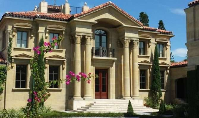 Million Neoclassical Waterfront Home Naples