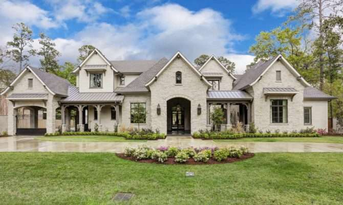 Million Newly Built French Country Home Houston