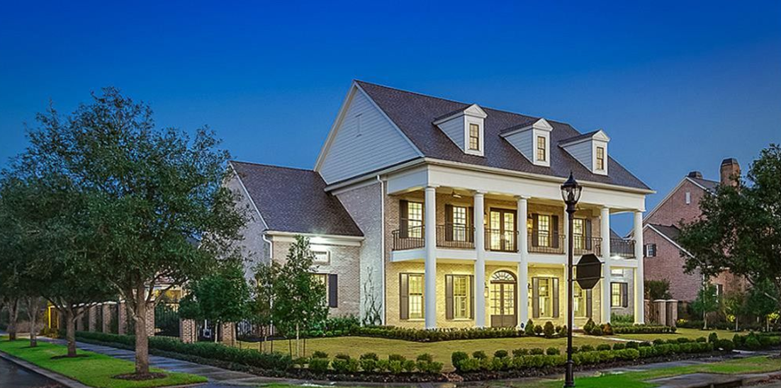 Million Newly Built Southern Colonial Mansion