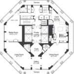 Million Octagon Shaped Penthouse New York City Homes