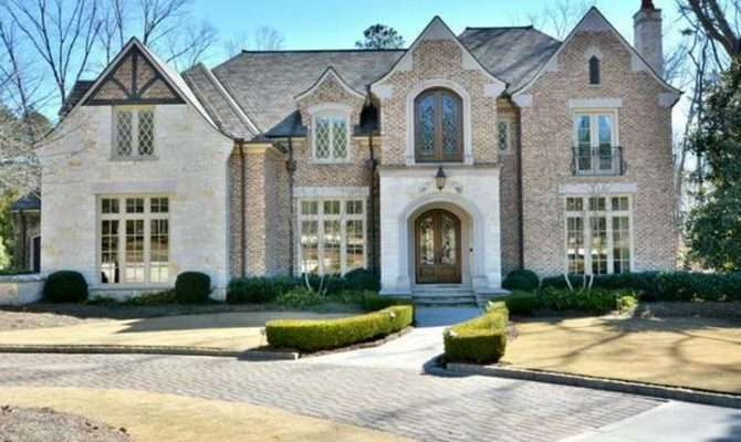 Million Square Foot Brick Stone Mansion