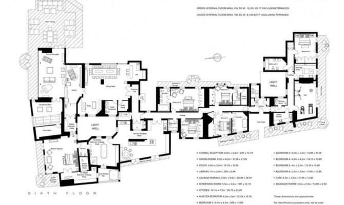 Million Square Foot Penthouse London
