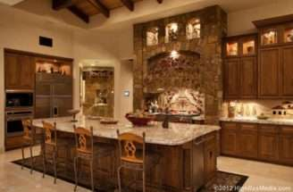 Million Tuscan Style Mountaintop Mansion Scottsdale Homes