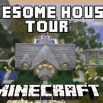 Minecraft Awesome Survival House Tour Scarlandhouse Project Part