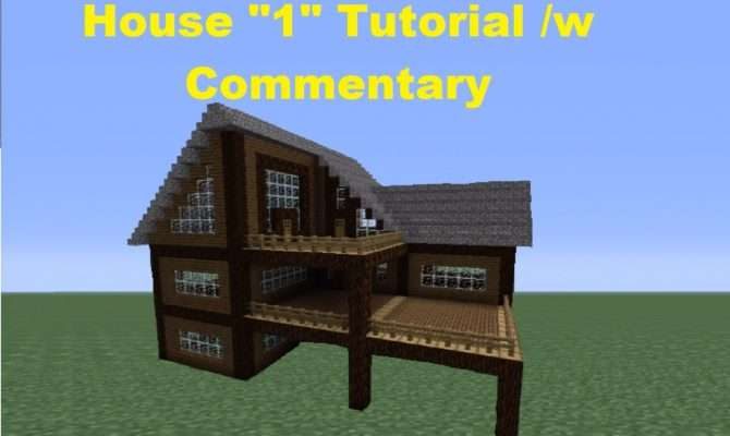 Minecraft Build Spruce Wood House Youtube
