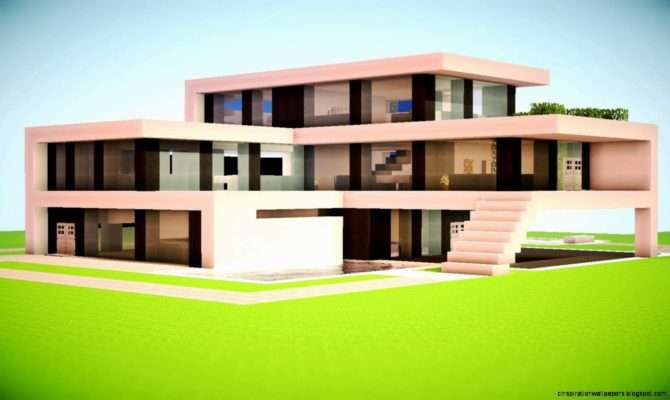 Minecraft Modern House Designs Inspiration