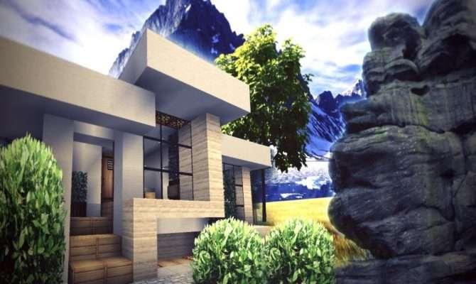 Minecraft Modern House Save