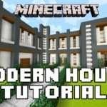 Minecraft Tutorial Build Modern House Layout Design