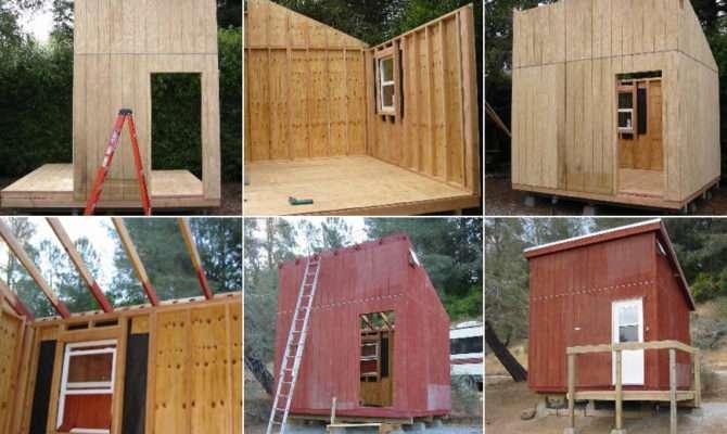 Mini Cabin Plans Tiny House Design