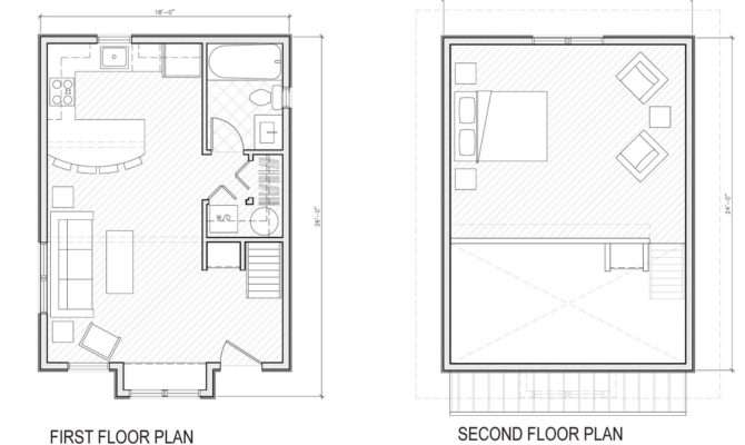 Mini Cottage Plans Unique House