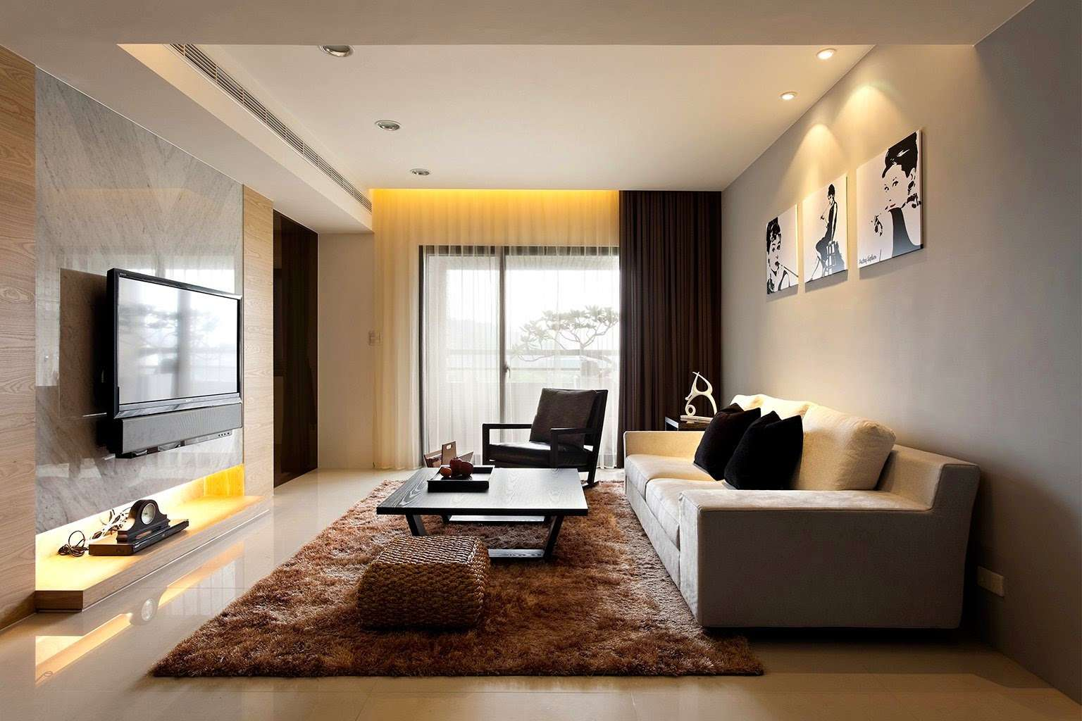 Minimalist Home Design Decor Homes Modern Small Living