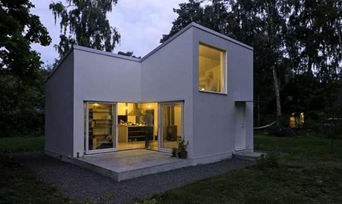 Minimalist Modern Concrete Small House Plans