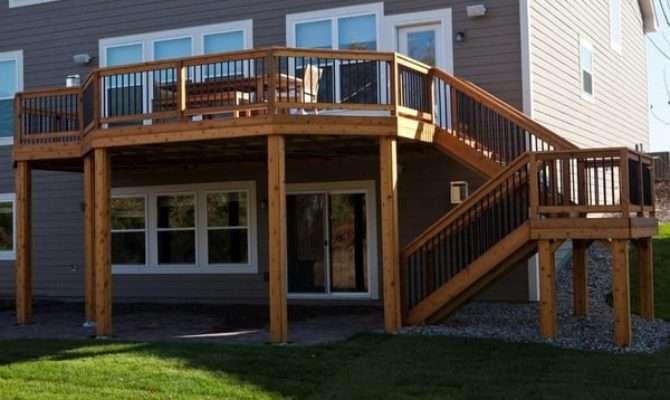 Minneapolis Deck Builder Cedar Walk Out Yelp