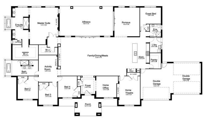 Mirage Acreage Level Floorplan Kurmond Homes New Home