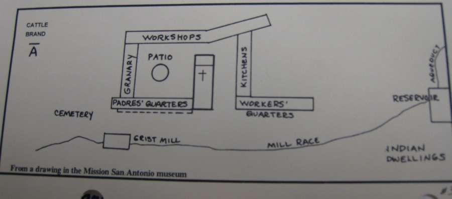 Mission Santa Ines Floor Plan Animalgals Building Plans