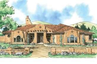 Mission Style Home Plans Eplans House Floor