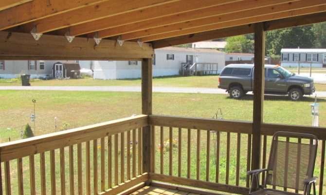 Mobile Home Covered Porch Plans Joy Studio Design
