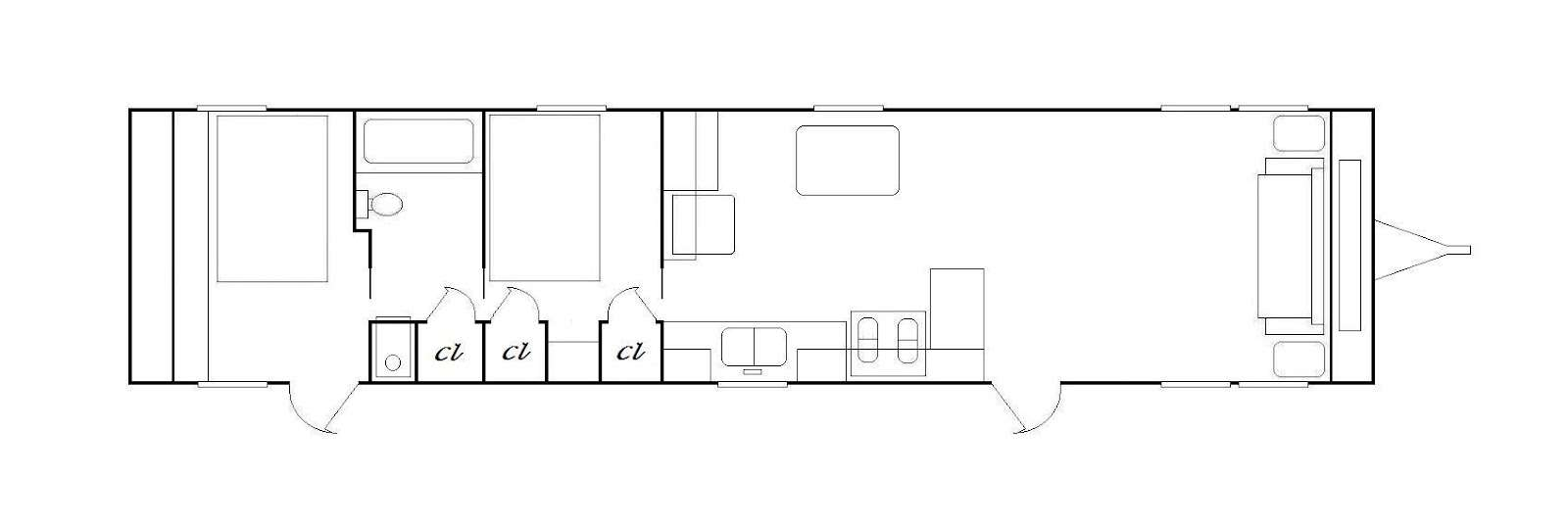 Mobile Home Floor Plans Bedroom Plan Shows