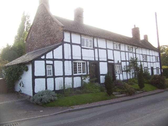 Mock Tudor Houses Goostrey Geograph