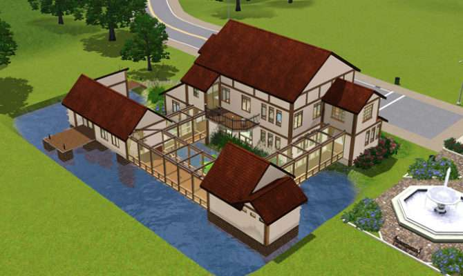 Mod Sims Akane House Japanese Inaka Plans