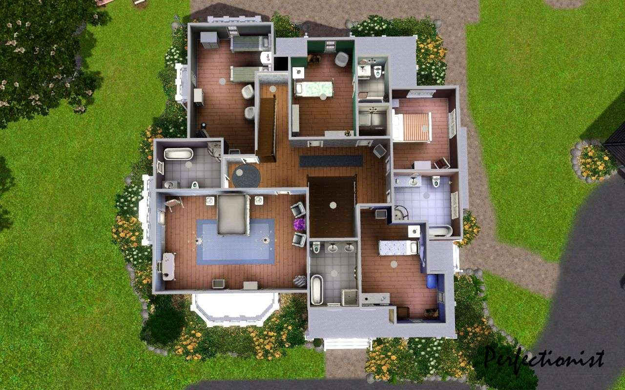 Mod Sims Michelle Mansion