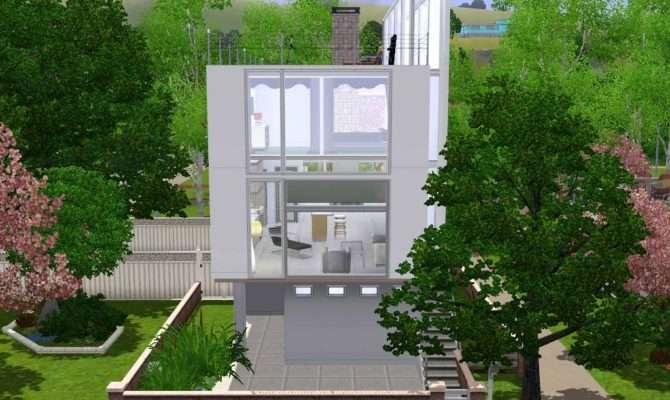 Mod Sims Minimalist Townhouse