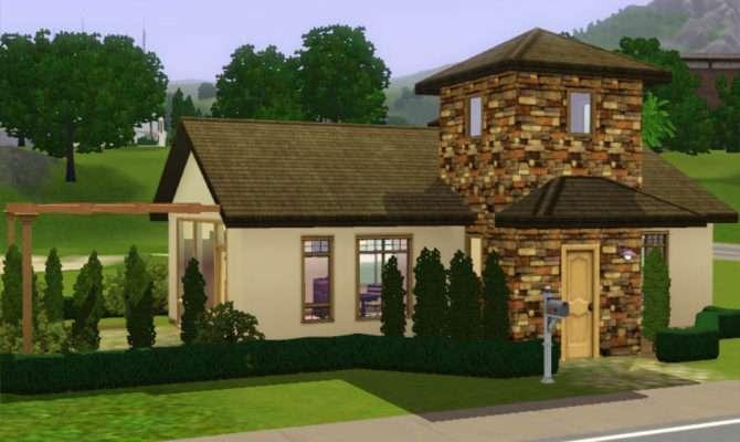 Mod Sims Small Starter Cottage Italian Style