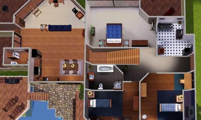 Mod Sims Sunset Cliffs Cool Ocean Home