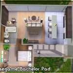 Mod Sims Uno Basegame Bachelor Pad Tvrdesigns